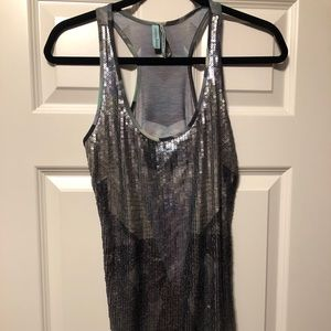 Marciano Sequined Tank